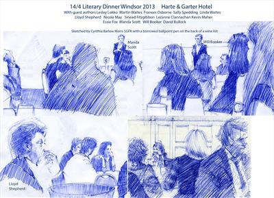 14/4 Literary Dinner 2013 at the Harte & Gartel Hotel