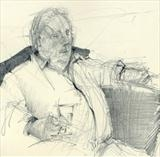 Brian by Cynthia Barlow Marrs SGFA, Drawing, Graphite in A5 Moleskine sketchbook