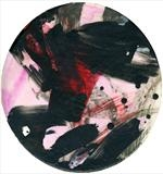 No. 3 by Cynthia Barlow Marrs SGFA, Painting, Chinese ink, gesso and acrylic on watercolour board