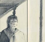 Verandah by Cynthia Barlow Marrs SGFA, Drawing, Graphite in A5 Moleskine sketchbook