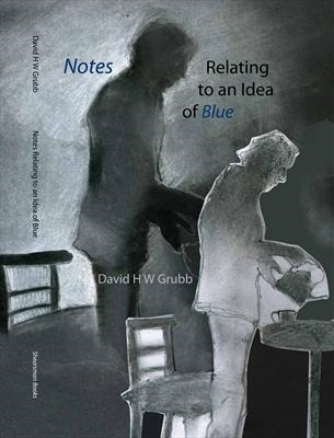 Notes Relating to an Idea of Blue by Cynthia Barlow Marrs SGFA, Drawing