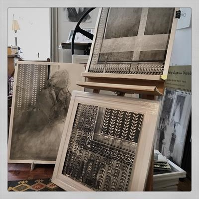 Studio shot: Countdown to the exhibition by Cynthia Barlow Marrs SGFA, Photography